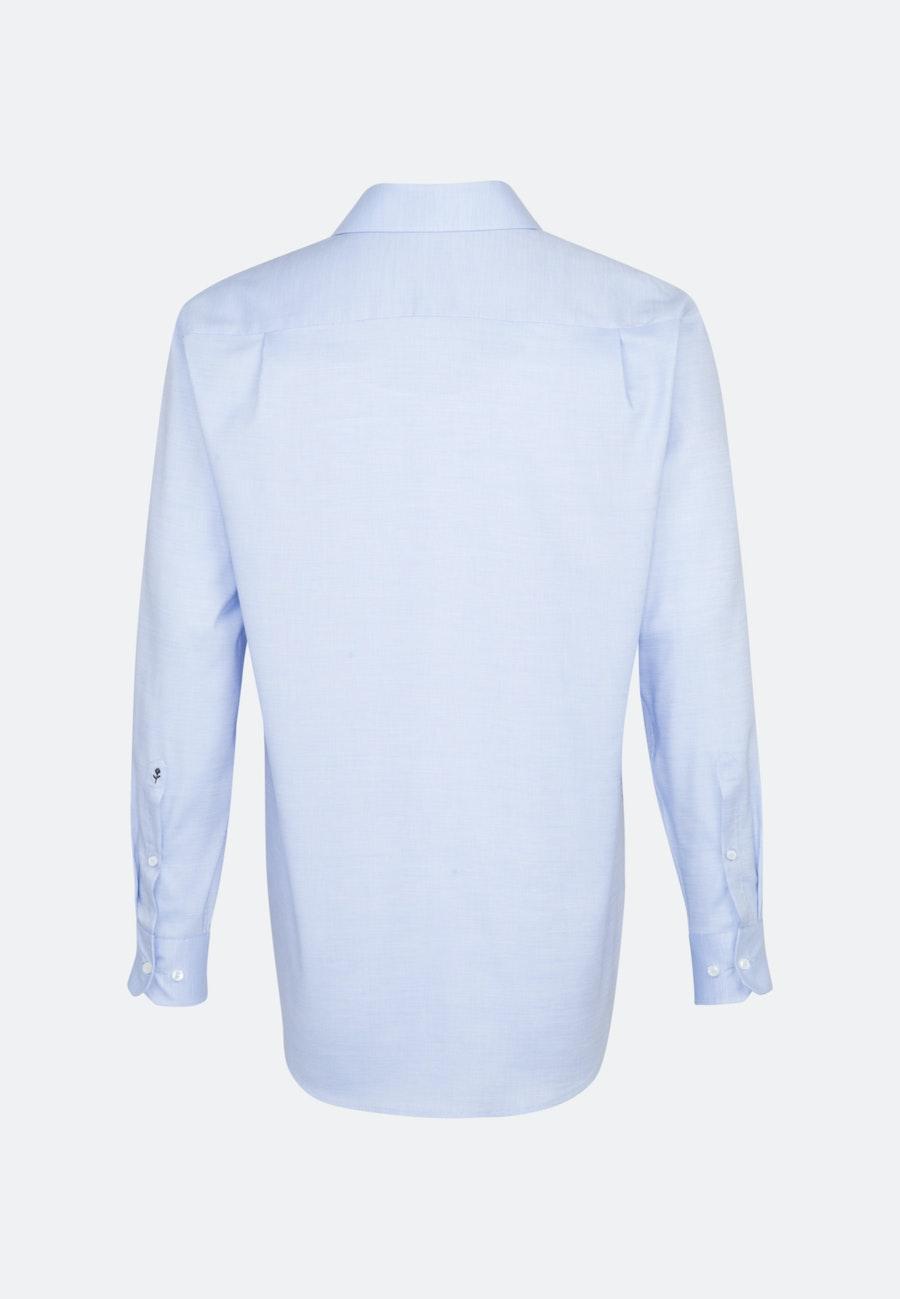 Non-iron Structure Business Shirt in Comfort with Kent-Collar in Light blue |  Seidensticker Onlineshop