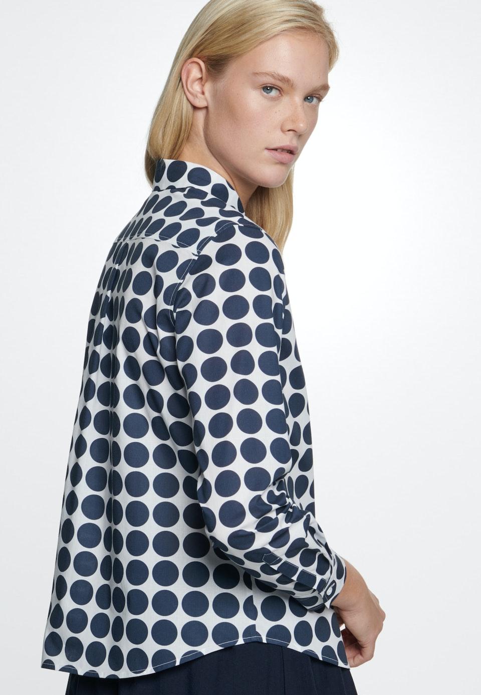 Voile Shirt Blouse made of 100% Cotton in White |  Seidensticker Onlineshop
