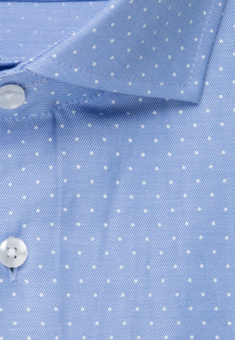 Easy-iron Struktur Business Shirt in Slim with Kent-Collar in Light blue |  Seidensticker Onlineshop