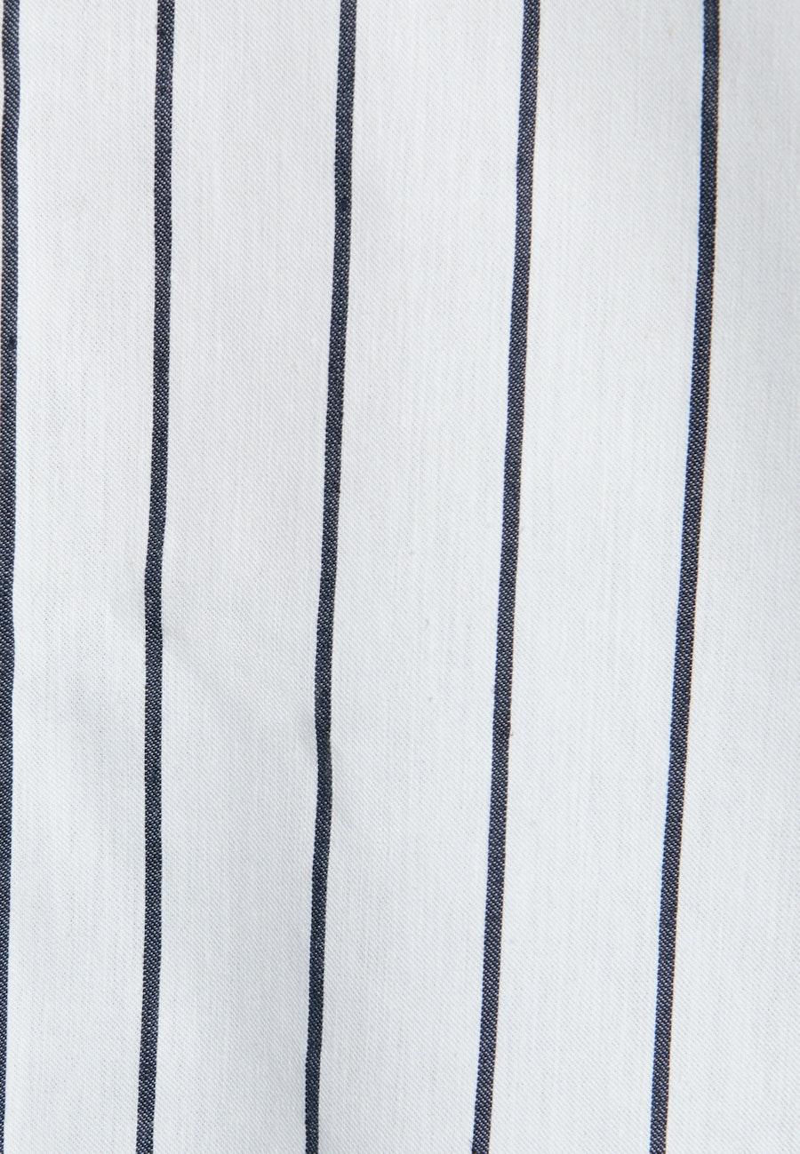 Short sleeve Popeline Shirt Blouse made of linen blend in White |  Seidensticker Onlineshop