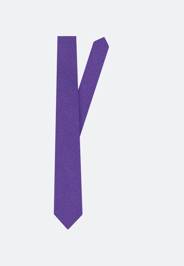 Krawatte aus 100% Seide 5 cm Breit in Lila    Seidensticker Onlineshop