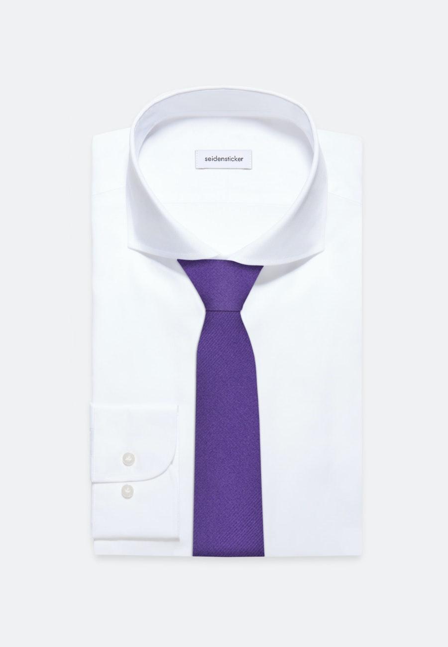 Krawatte aus 100% Seide 5 cm Breit in Lila |  Seidensticker Onlineshop