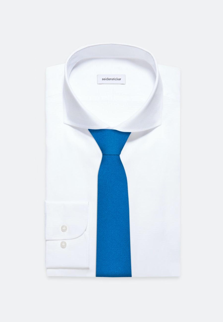 Krawatte aus 100% Seide 5 cm Breit in Türkis/Petrol    Seidensticker Onlineshop