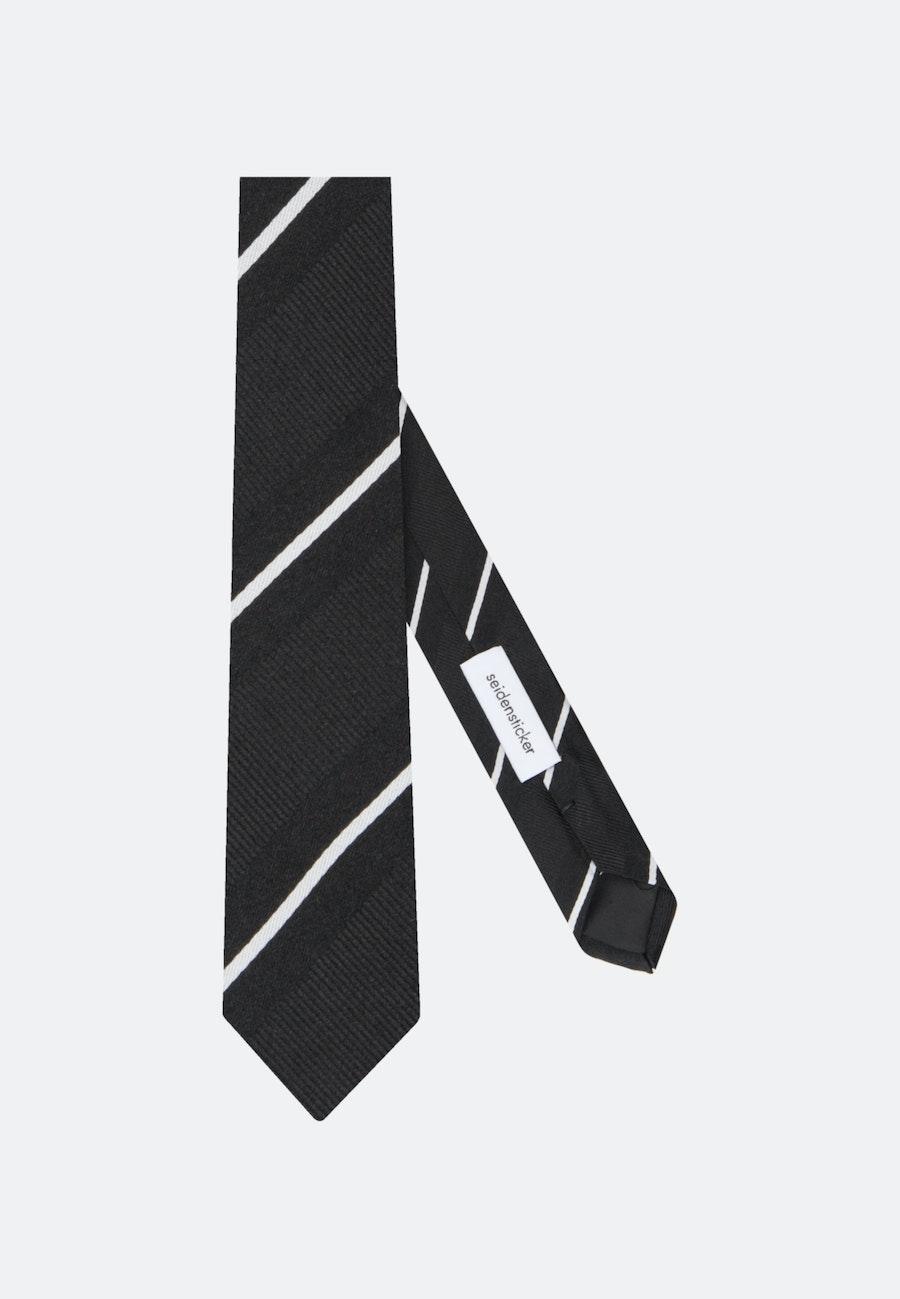 Krawatte aus 100% Seide 5 cm Breit in Schwarz    Seidensticker Onlineshop