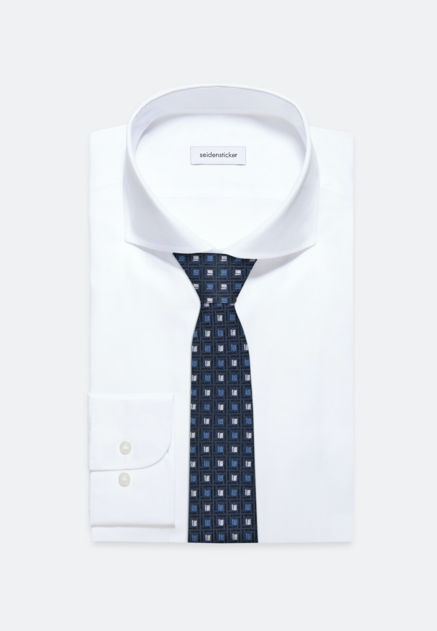 Krawatte aus 100% Seide 5 cm Breit in Hellblau    Seidensticker Onlineshop