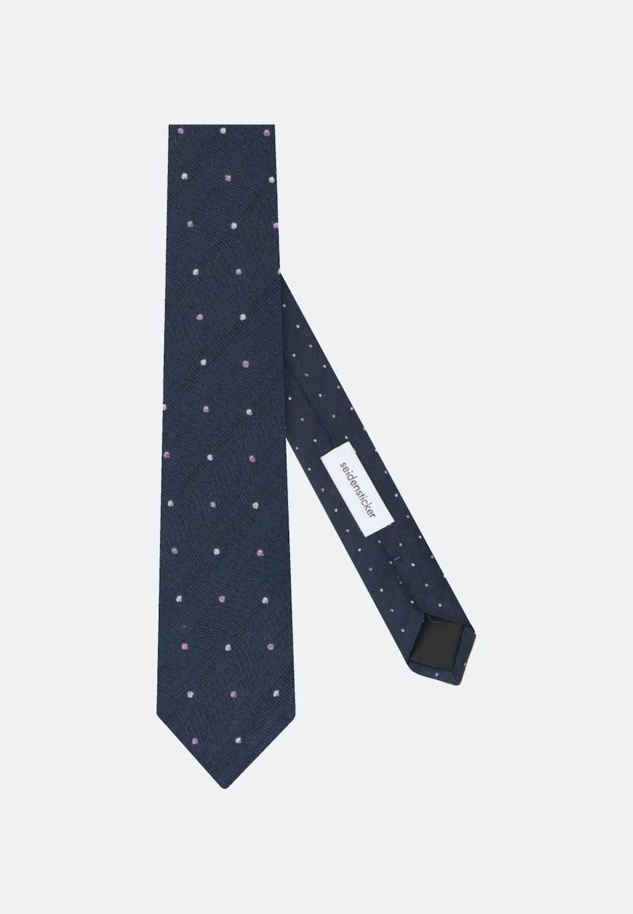 Tie made of 100% Silk 5 cm wide in Pink    Seidensticker Onlineshop