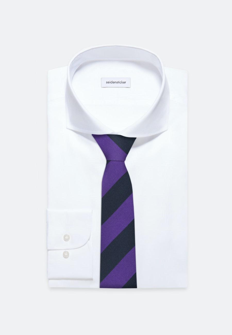 Tie made of 100% Silk 7 cm wide in Purple    Seidensticker Onlineshop