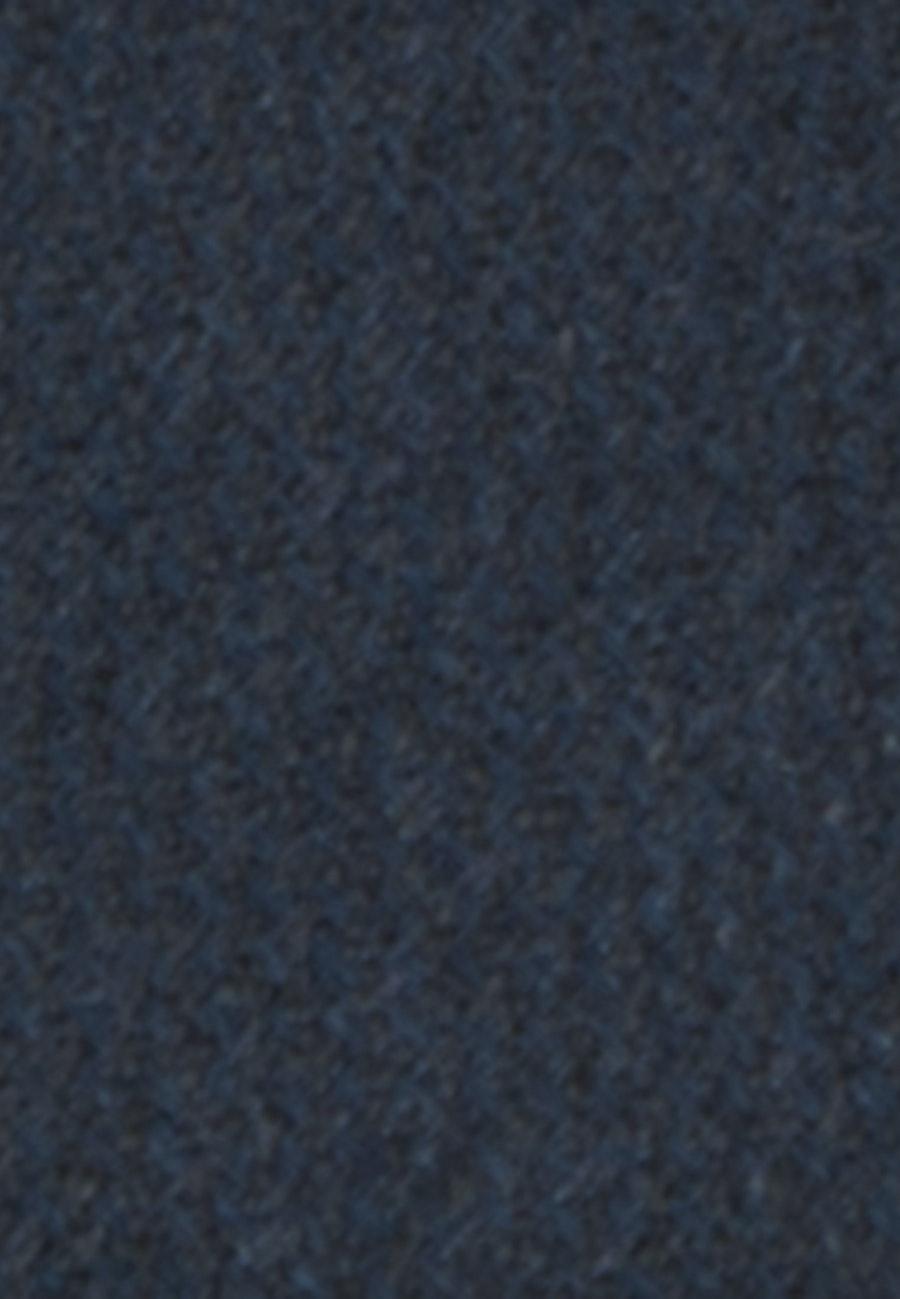 Krawatte aus Seiden-Leinenmischung 7 cm Breit in Dunkelblau |  Seidensticker Onlineshop