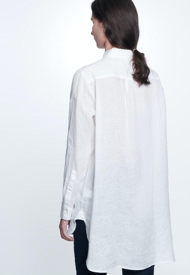 Linen Long Blouse made of 100% Linen in Ecru |  Seidensticker Onlineshop