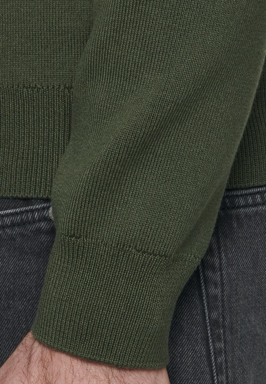 Strick Bomber aus 100% Baumwolle in Grün |  Seidensticker Onlineshop