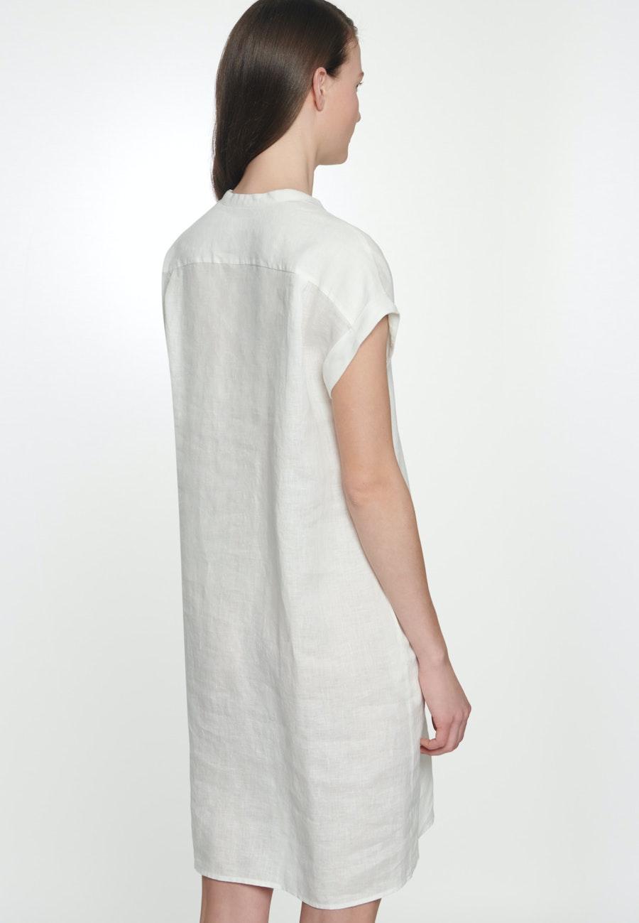 Ärmelloses Leinen Midi Kleid aus 100% Leinen in Ecru    Seidensticker Onlineshop