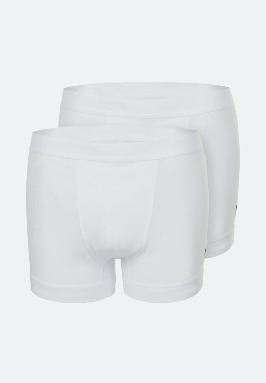 Two-Pack Boxershorts made of cotton blend in White |  Seidensticker Onlineshop