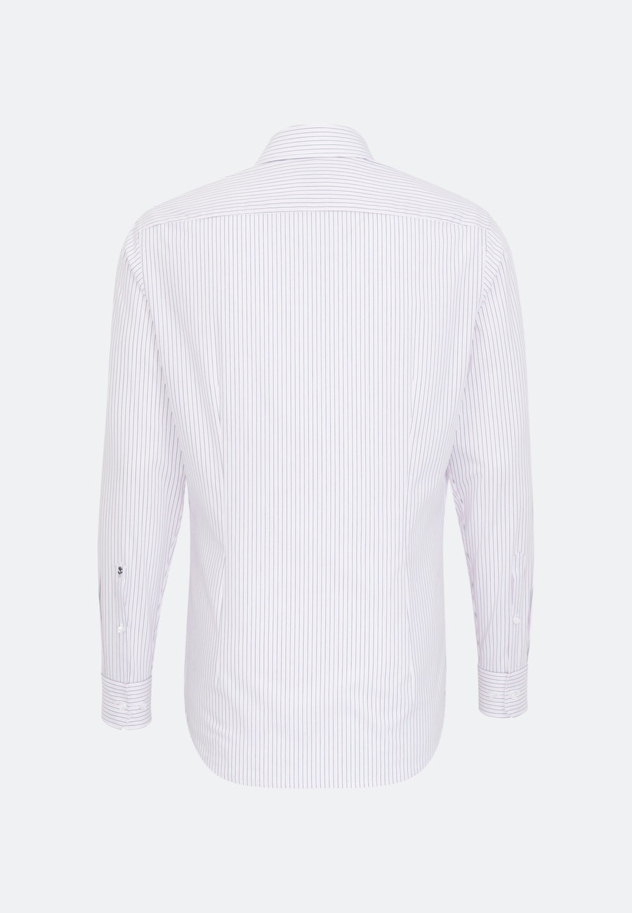 Non-iron Popeline Business Shirt in Shaped with Kent-Collar in Pink    Seidensticker Onlineshop