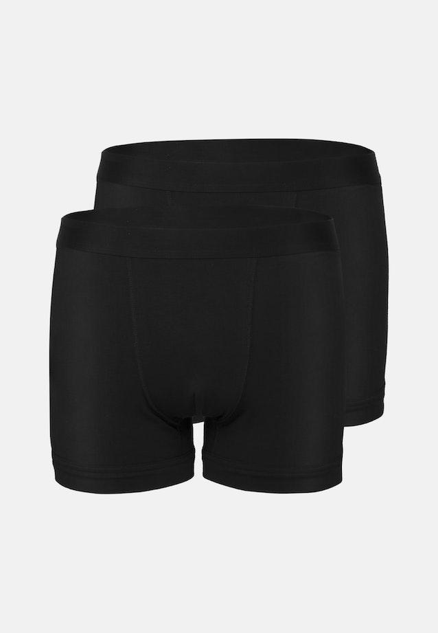 2er-Pack Boxershorts aus Baumwollmischung in Schwarz |  Seidensticker Onlineshop