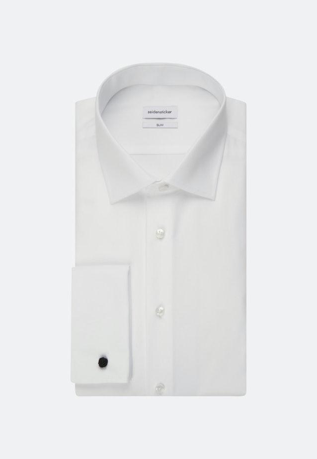 Non-iron Poplin Business Shirt in Slim with Kent-Collar in Brown |  Seidensticker Onlineshop