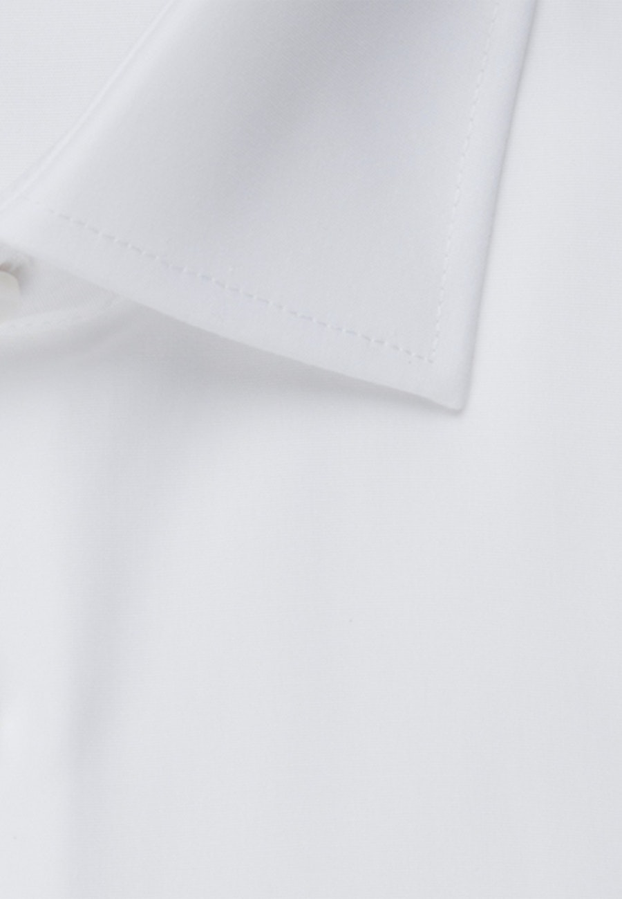 Non-iron Popeline Business Shirt in Slim with Kent-Collar in White |  Seidensticker Onlineshop