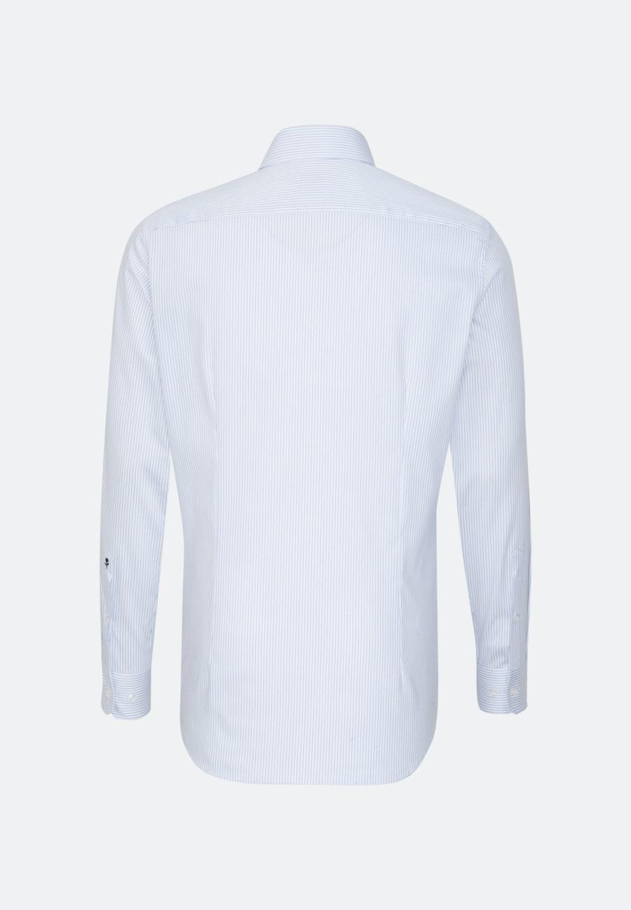 Easy-iron Struktur Business Shirt in Slim with Kent-Collar in Light blue    Seidensticker Onlineshop