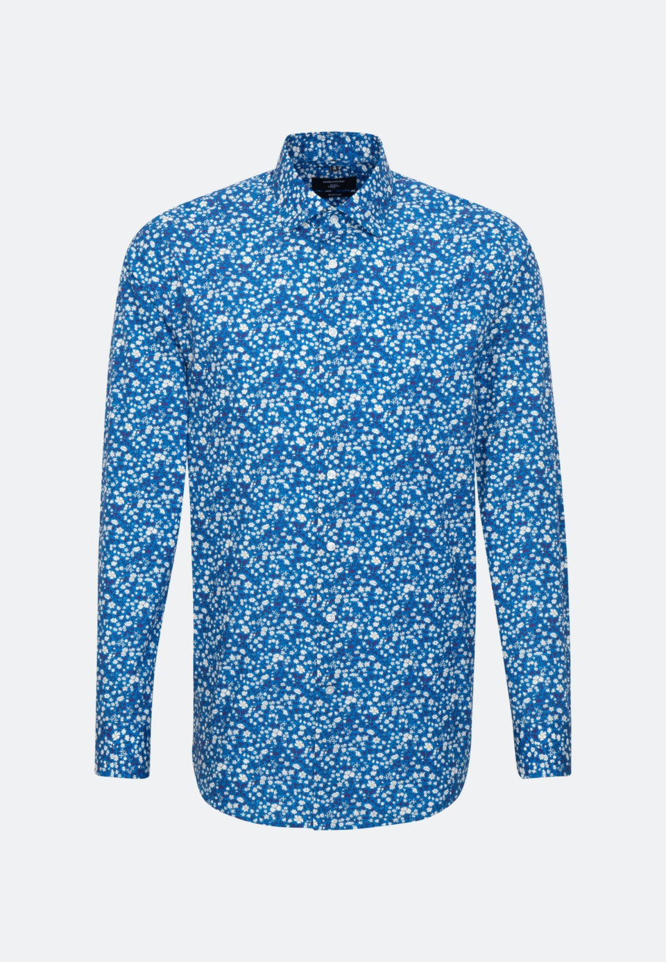 Easy-iron Popeline Business Shirt in Regular with Kent-Collar in Turquoise |  Seidensticker Onlineshop