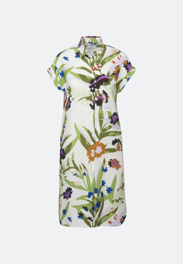 Twill Midi Kleid aus Tencelmischung in Ecru |  Seidensticker Onlineshop