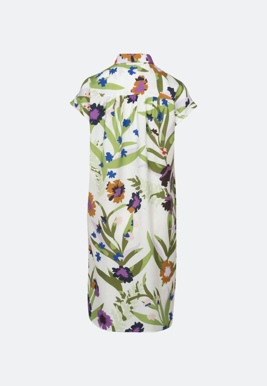 Twill Midi Kleid aus Tencelmischung in Ecru    Seidensticker Onlineshop