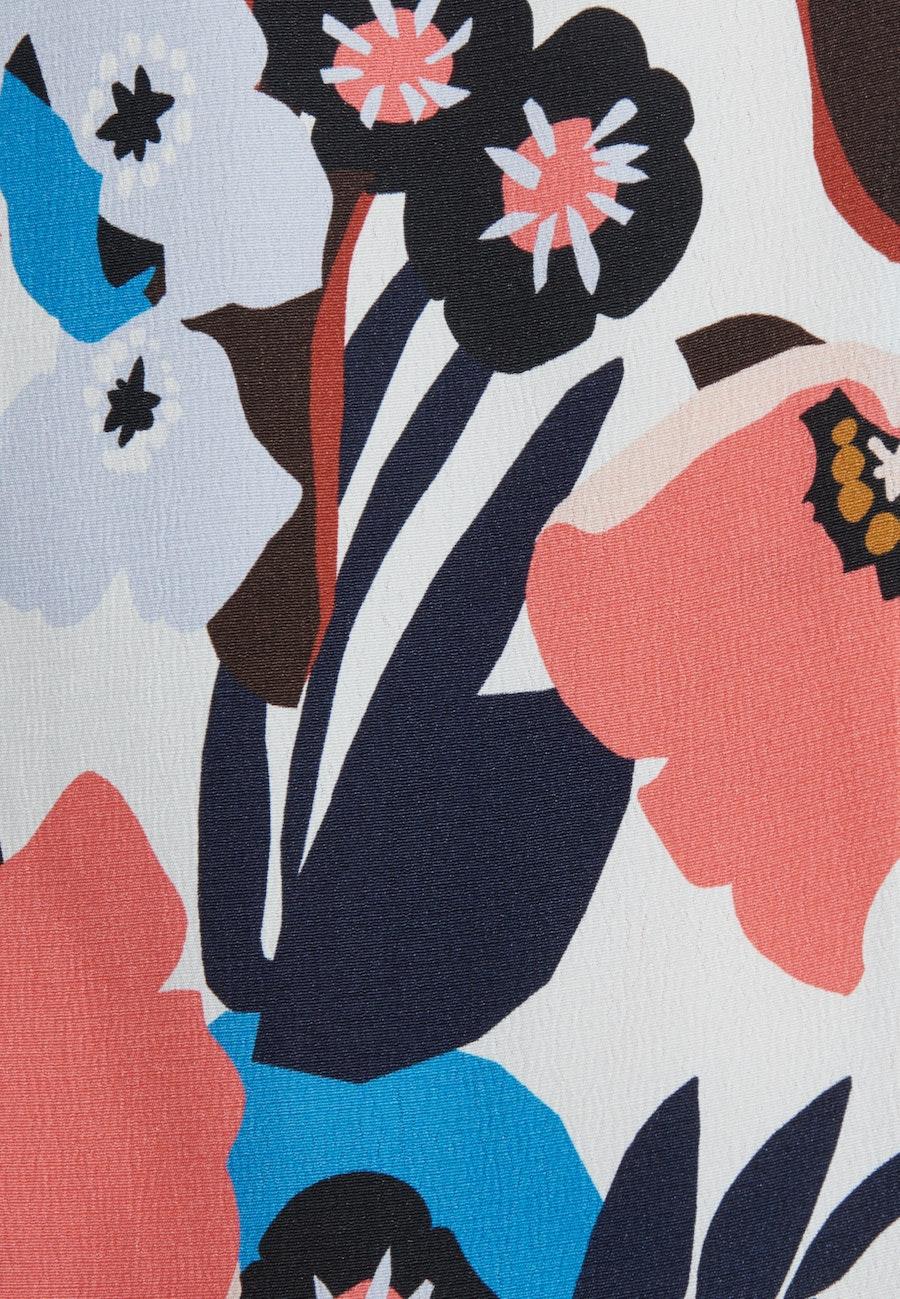 Sleeveless Crepe Shirt Blouse made of 100% Viscose in Ecru |  Seidensticker Onlineshop