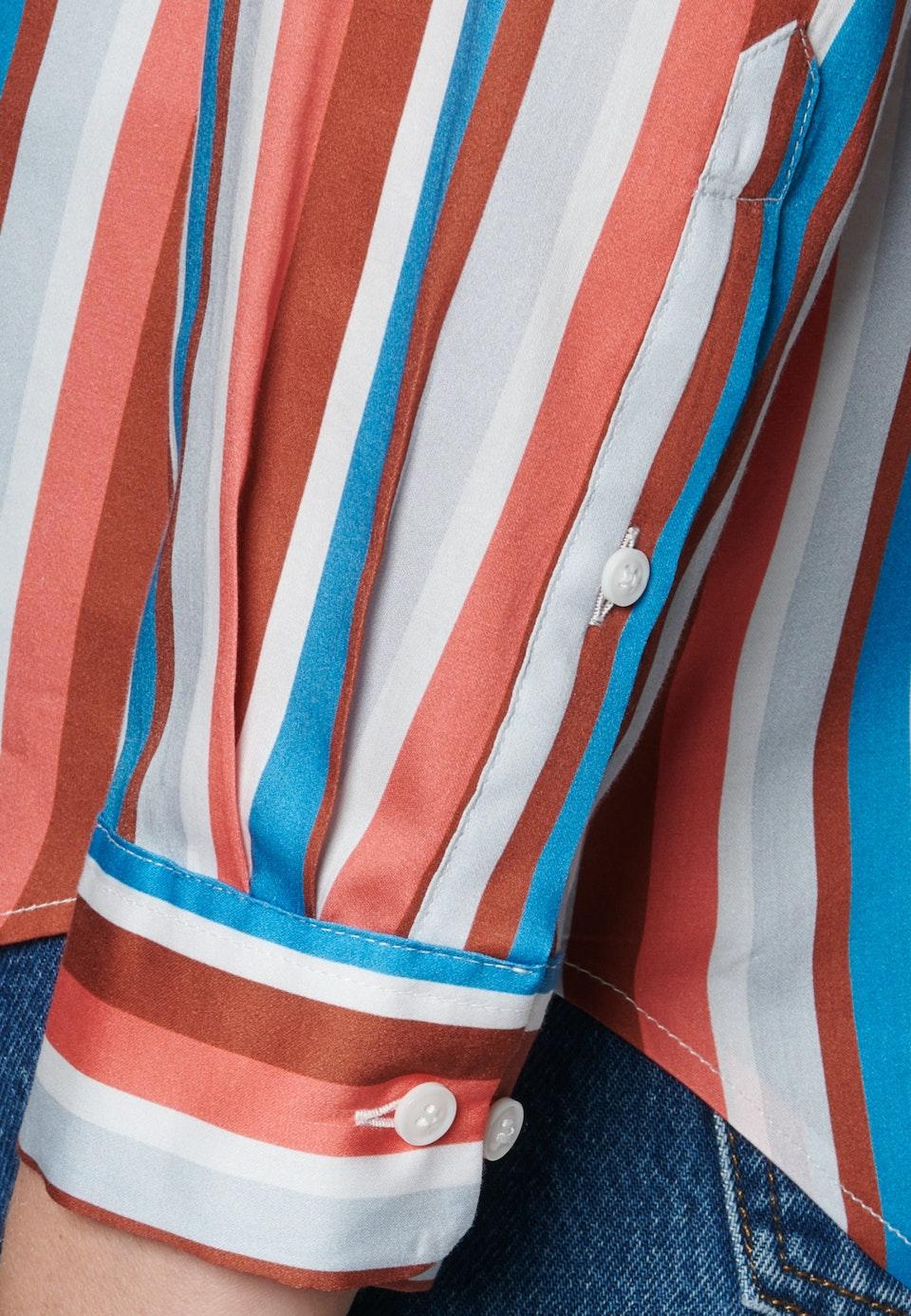 Satin Hemdbluse aus 100% Baumwolle in Rosa/Pink    Seidensticker Onlineshop