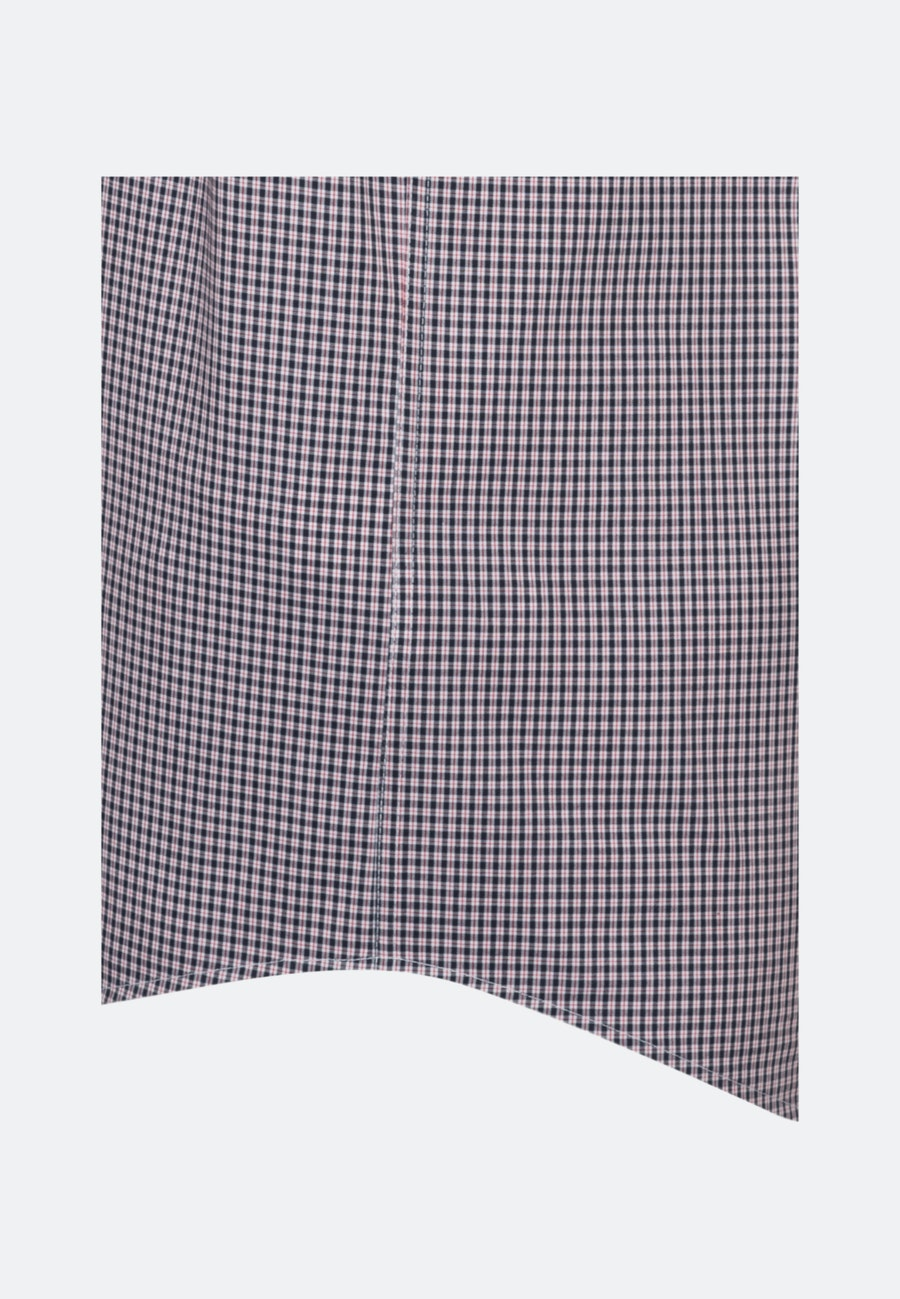Bügelfreies Popeline Kurzarm Business Hemd in Regular mit Button-Down-Kragen in Rot    Seidensticker Onlineshop