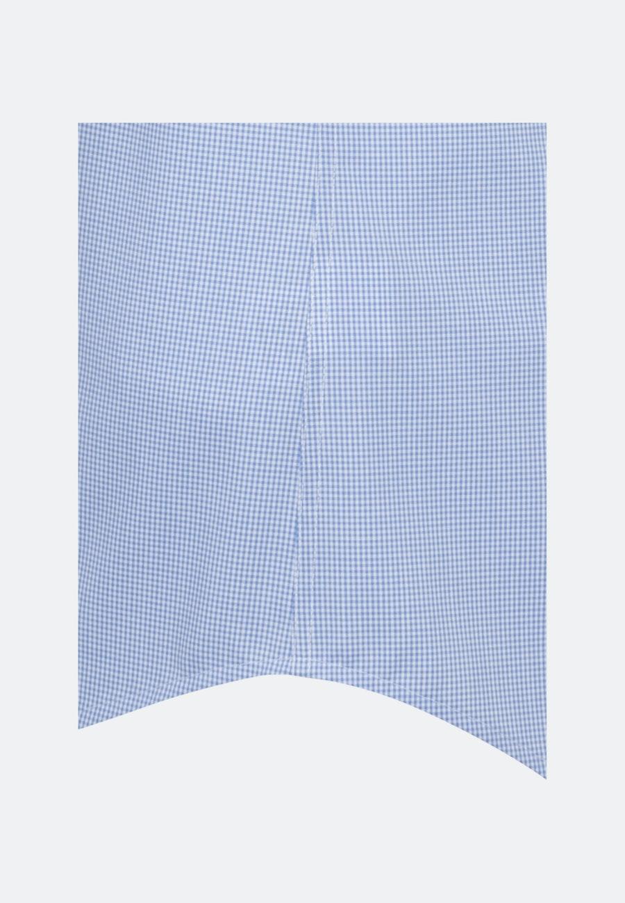 Non-iron Popeline Short sleeve Business Shirt in Shaped with Kent-Collar in Light blue |  Seidensticker Onlineshop