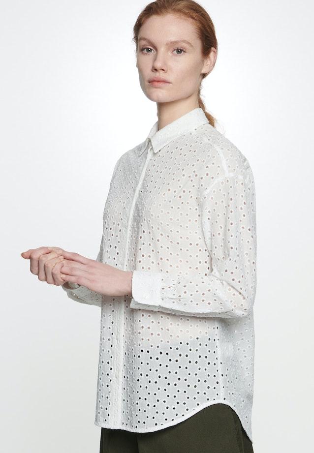 Voile Hemdbluse aus 100% Baumwolle in Ecru |  Seidensticker Onlineshop