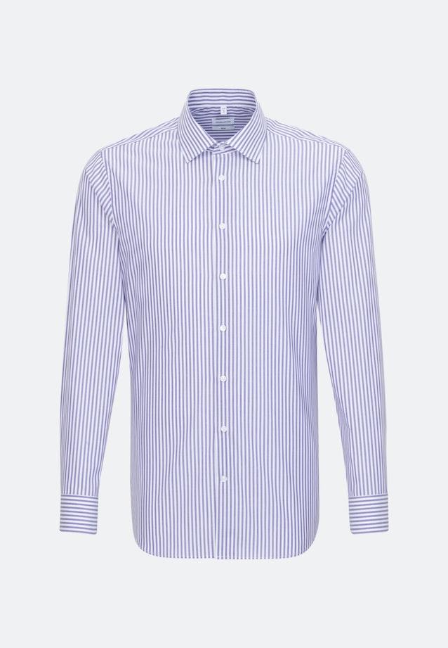 Non-iron Popeline Business Shirt in Slim with Kent-Collar in Purple |  Seidensticker Onlineshop