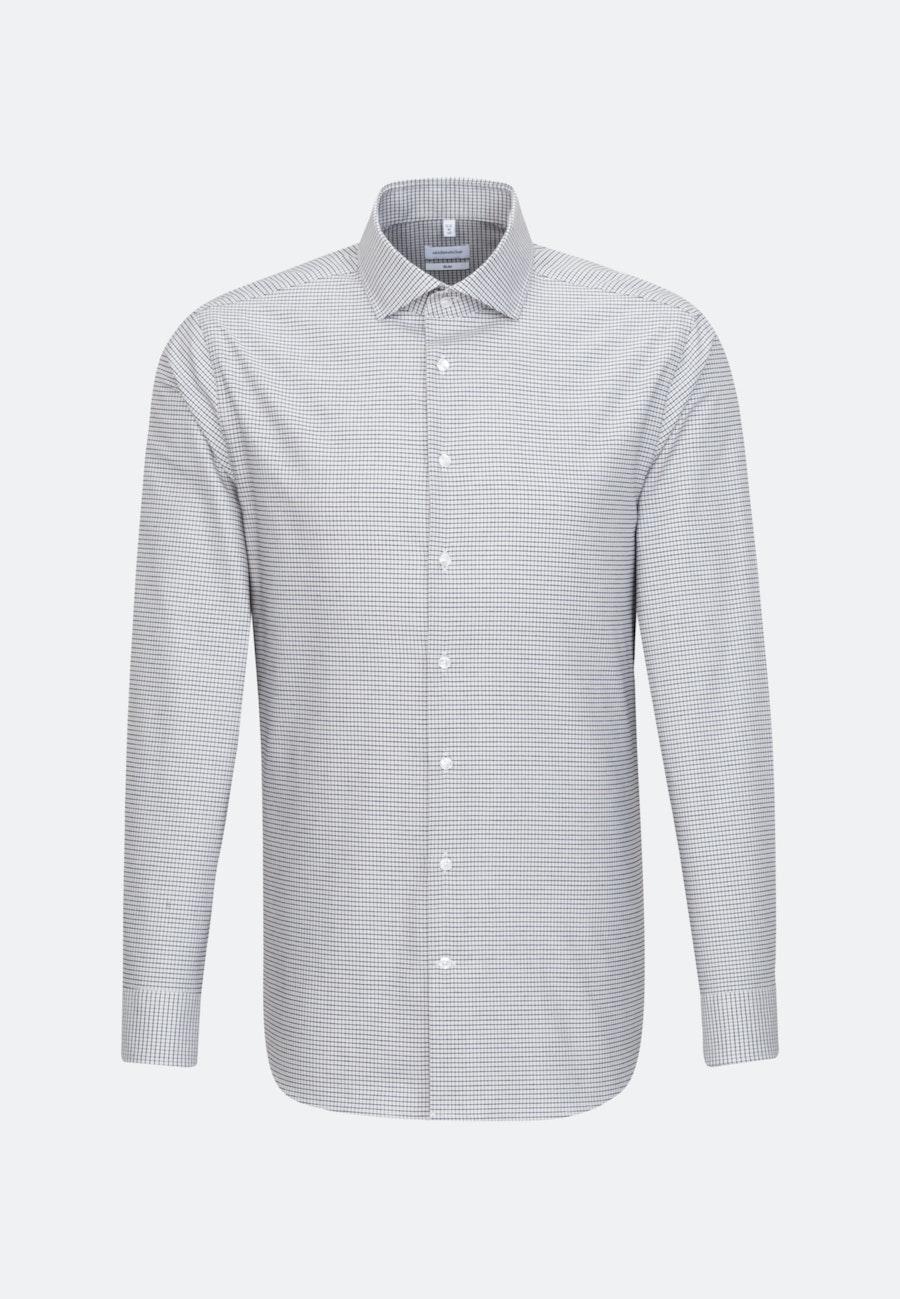 Easy-iron Oxford Business Shirt in Slim with Kent-Collar in Brown |  Seidensticker Onlineshop