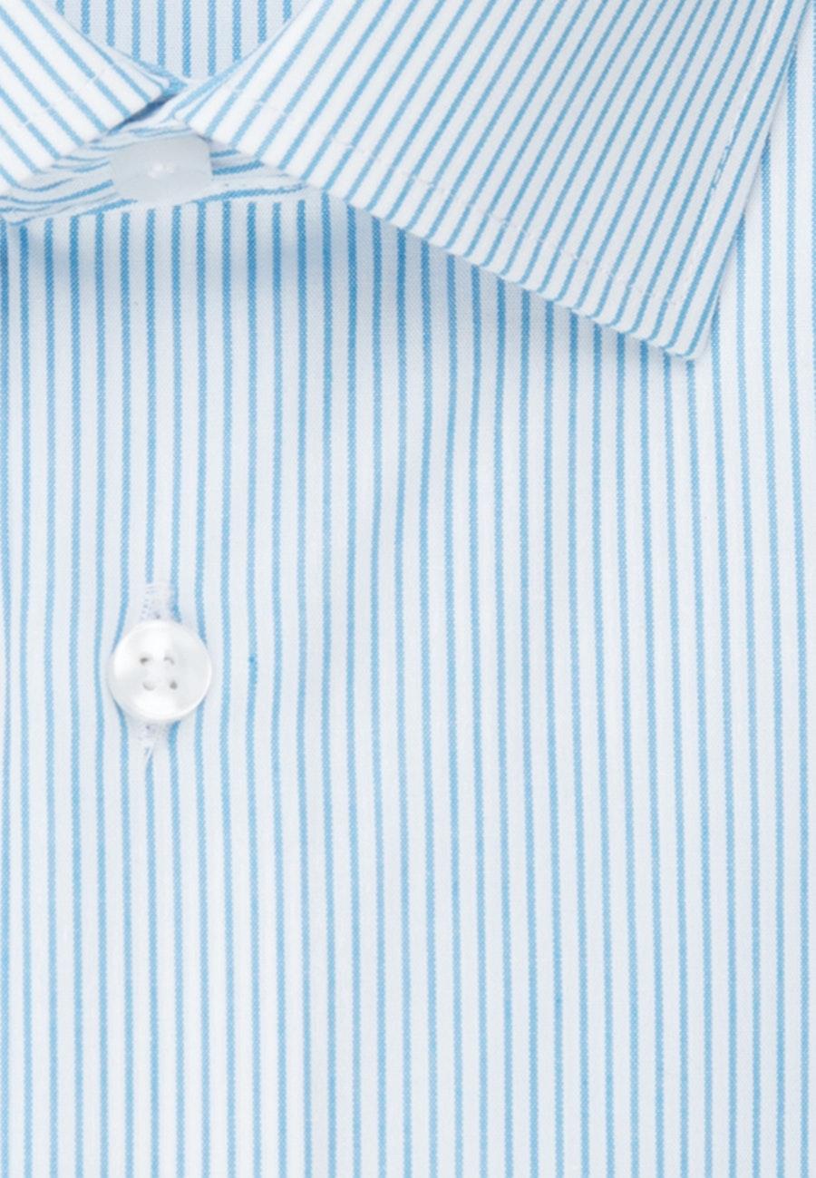 Bügelfreies Popeline Business Hemd in Shaped mit Kentkragen in Türkis/Petrol |  Seidensticker Onlineshop