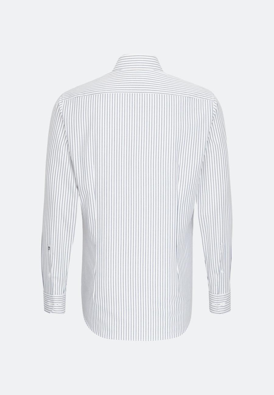 Bügelleichtes Oxford Business Hemd in Slim mit Kentkragen in Braun |  Seidensticker Onlineshop
