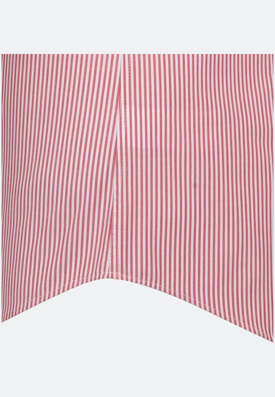 Non-iron Poplin Short sleeve Business Shirt in Slim with Kent-Collar in Red    Seidensticker Onlineshop