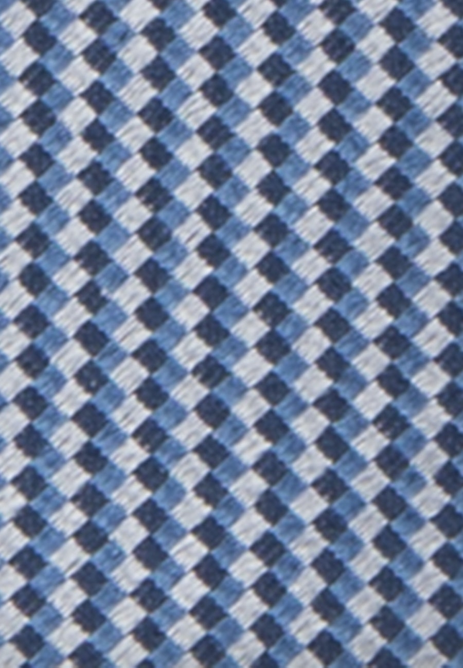 Tie made of 100% Silk 5 cm wide in Light blue    Seidensticker Onlineshop