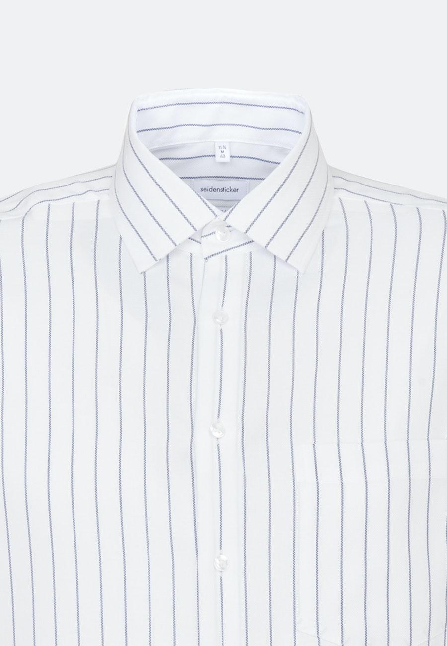 Easy-iron Structure Business Shirt in Regular with Kent-Collar in White |  Seidensticker Onlineshop