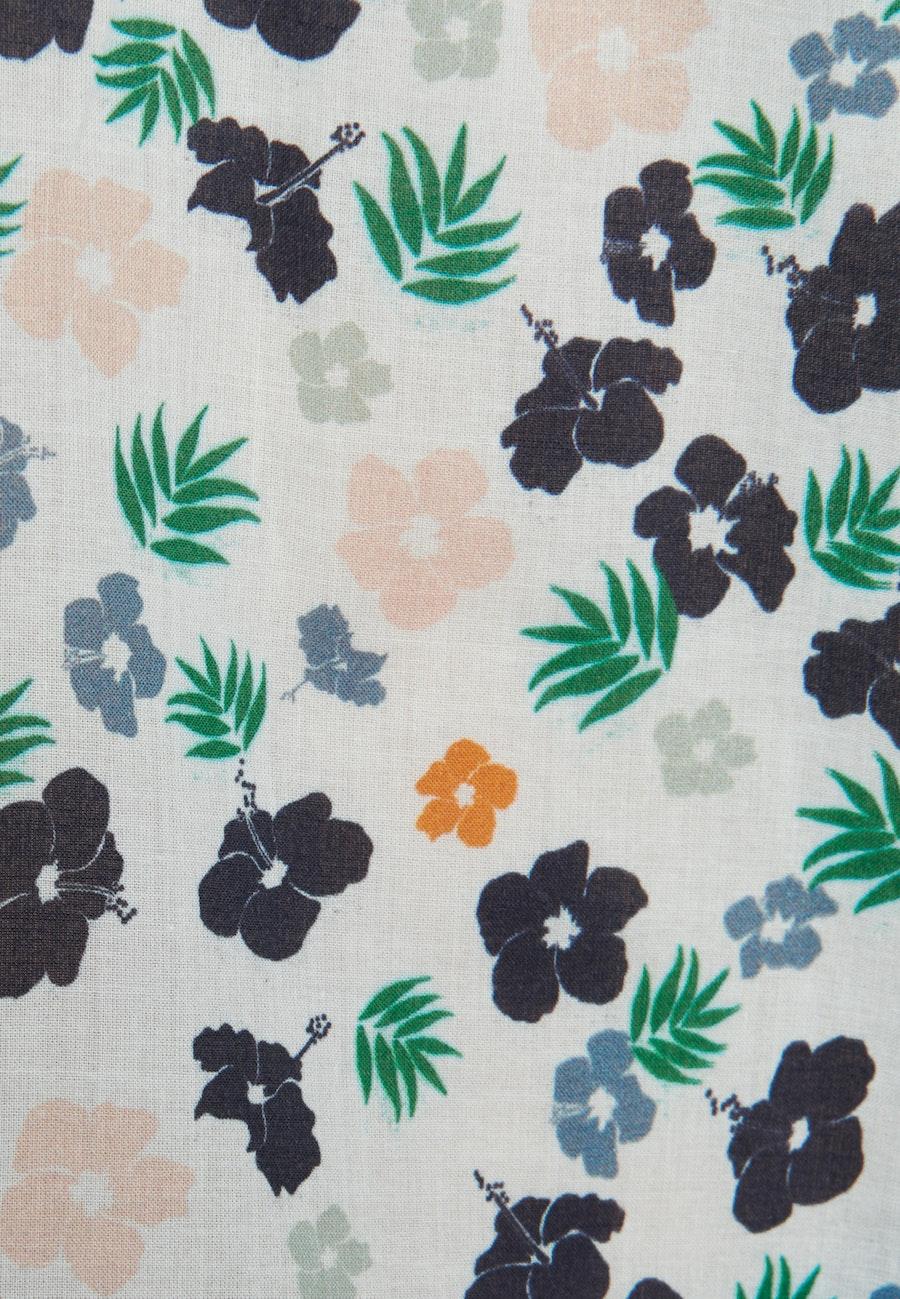 Voile Slip Over Blouse made of 100% Cotton in Ecru |  Seidensticker Onlineshop