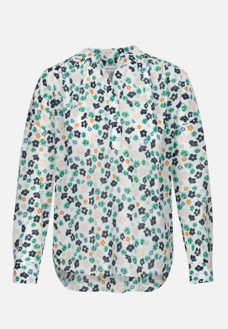 Voile Schlupfbluse aus 100% Baumwolle in Ecru    Seidensticker Onlineshop