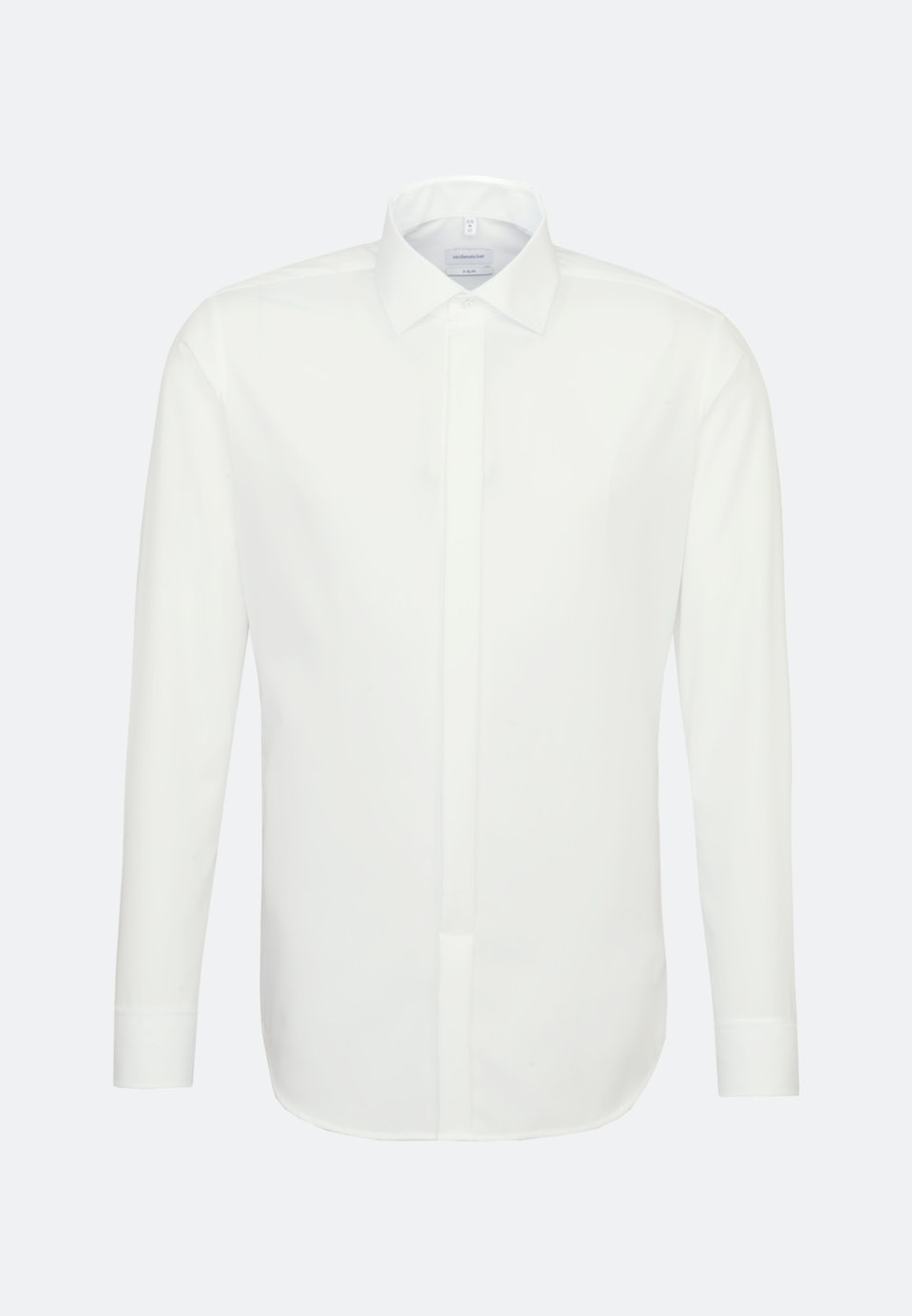Non-iron Popeline Business Shirt in X-Slim with Kent-Collar in Ecru |  Seidensticker Onlineshop