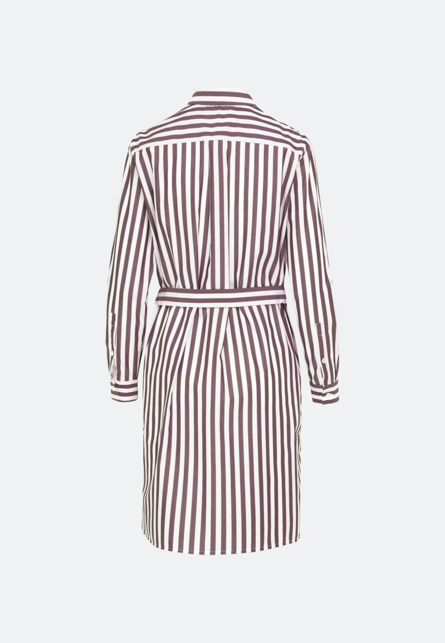 Poplin Midi Dress made of 100% Cotton in Red |  Seidensticker Onlineshop