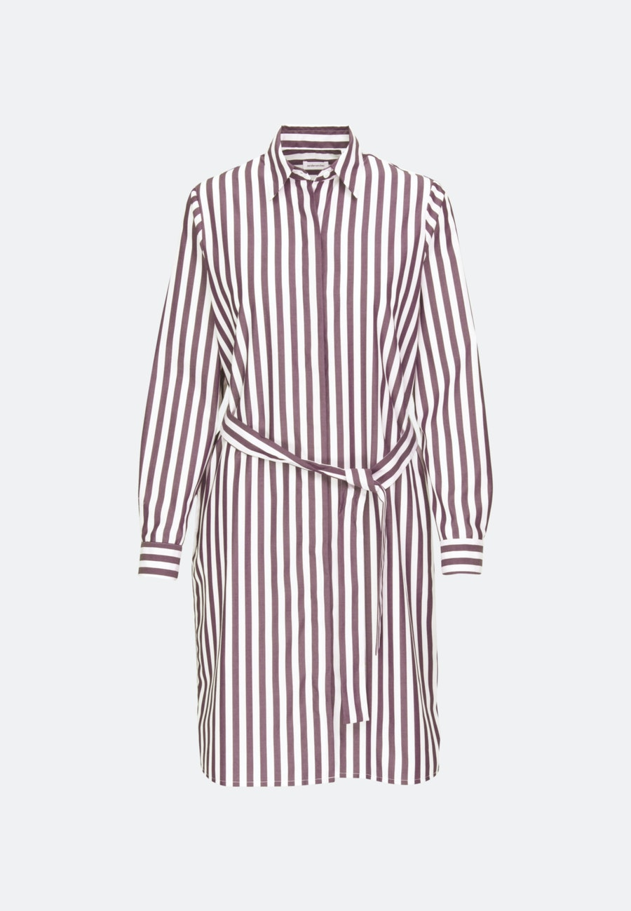 Popeline Midi Kleid aus 100% Baumwolle in Rot |  Seidensticker Onlineshop