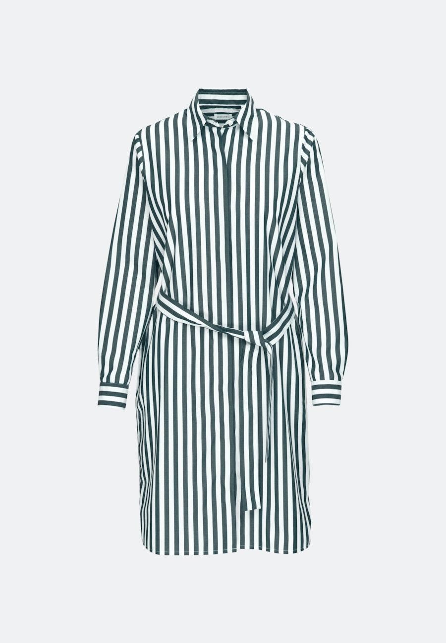Popeline Midi Dress made of 100% Cotton in Green |  Seidensticker Onlineshop