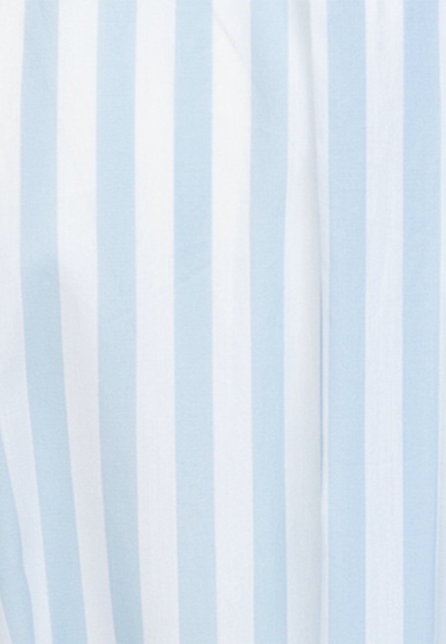 Poplin Midi Dress made of 100% Cotton in Light blue |  Seidensticker Onlineshop