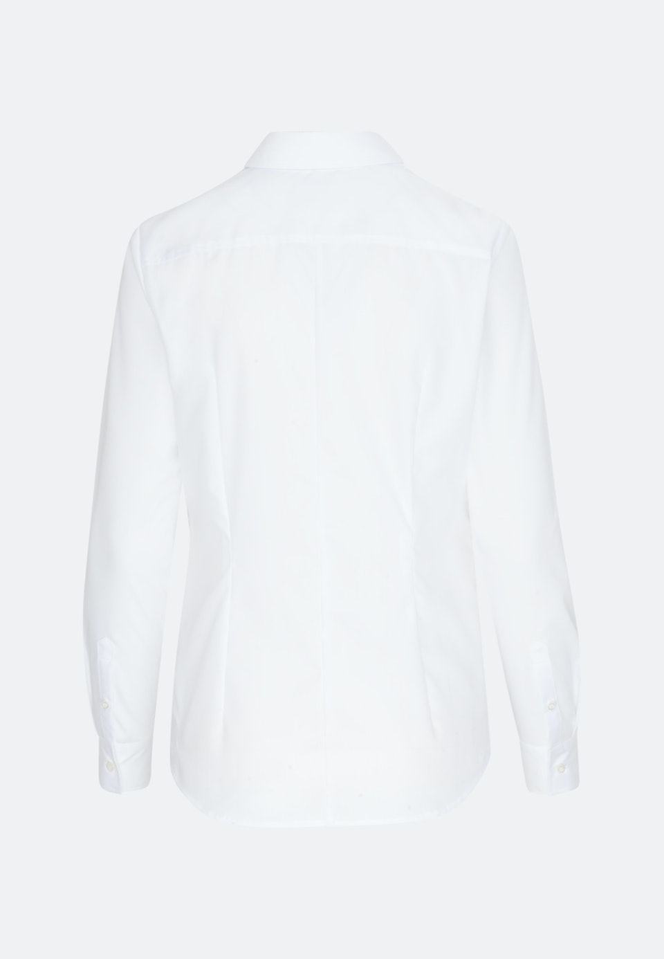 Non-iron Fil a fil Shirt Blouse made of 100% Cotton in White |  Seidensticker Onlineshop