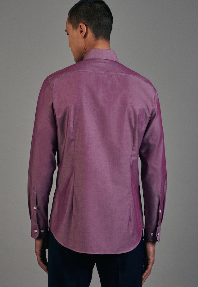 Non-iron Chambray Business Shirt in Shaped with Kent-Collar in Pink    Seidensticker Onlineshop