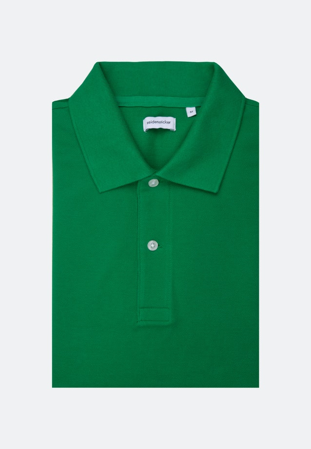 Polo-Shirt aus 100% Baumwolle in Grün |  Seidensticker Onlineshop
