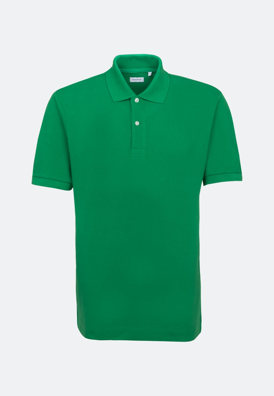 Polo-Shirt made of 100% Cotton in Green |  Seidensticker Onlineshop