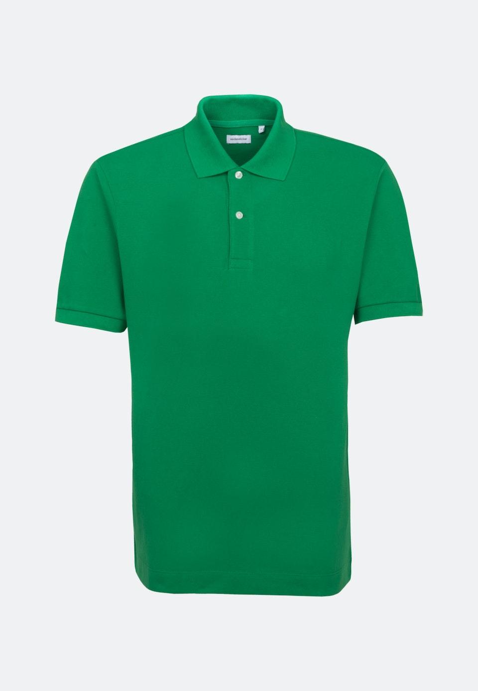 Polo-Shirt aus 100% Baumwolle in Grün |  Seidensticker Onlineshop