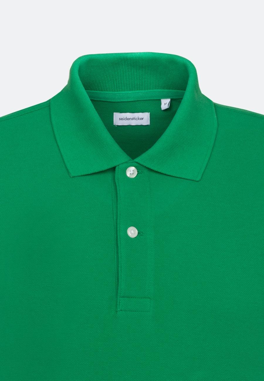 Polo-Shirt made of 100% Cotton in Green    Seidensticker Onlineshop