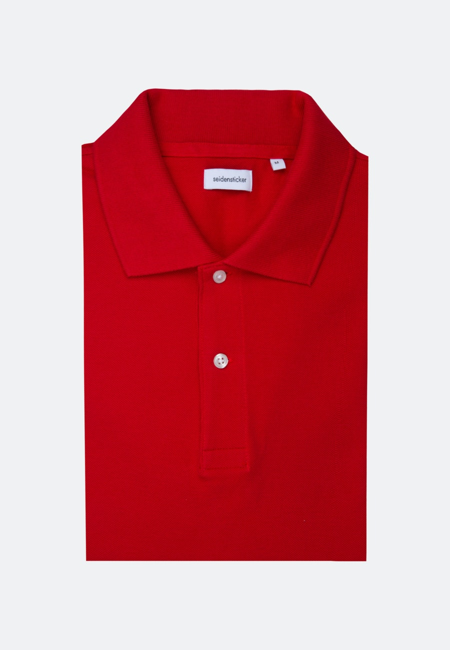 Polo-Shirt made of 100% Cotton in Red |  Seidensticker Onlineshop